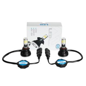 Kit 2 Ampoules Led HIR2 9012 4000 LUMENS 12-24V - Blanc Xenon