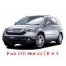 Pack LED Honda CR-V 3 Eclairage Intérieur et Extérieur