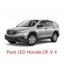 Pack LED Honda CR-V 4 Eclairage Intérieur et Extérieur