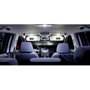 Pack Eclairage ( intérieur + extérieur )  LED (BLANC) Renault MEGANE 3 (3 PORTES)