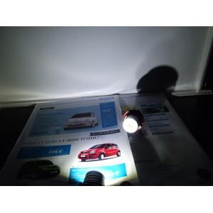 ampoule led 5w anneaux angel eyes pour bmw s rie 1 e87 s rie 5 e39 e60 e61 s rie 7 e65 e66. Black Bedroom Furniture Sets. Home Design Ideas