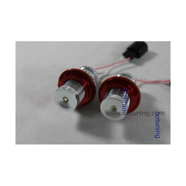 ampoule led 10w anneaux angel eyes pour bmw s rie 1 e87 s rie 5 e39 e60 e61 s rie 7 e65 e66. Black Bedroom Furniture Sets. Home Design Ideas
