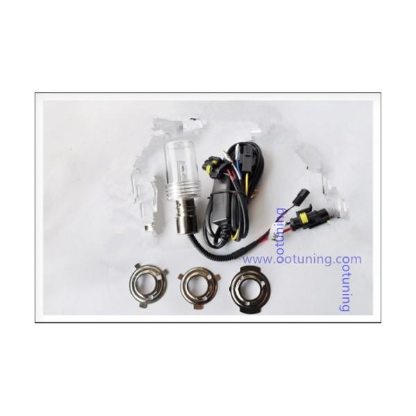 1 ampoule ba20d h6 m 6000k 35w pour kit xenon hid. Black Bedroom Furniture Sets. Home Design Ideas