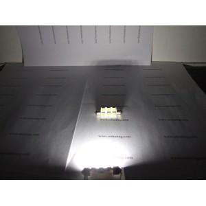 1 Ampoule LED Navette  36MM 6 SMD Blanc Xénon
