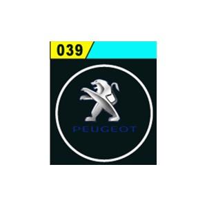Led Laser Logo Peugeot Décorative de Portières