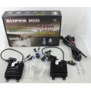 Kit de conversion Xenon HID H7 6000K 75W