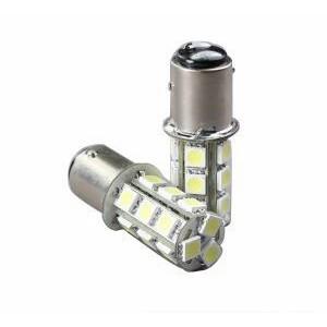 1 Ampoule 18 LED SMD - bay15d - p21/5w/ 1157  - Blanc Xénon