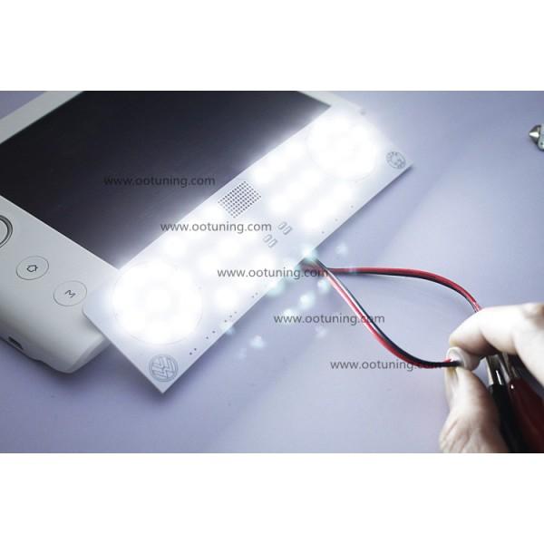 pack led eclairage int rieur blanc puissant compatible vw. Black Bedroom Furniture Sets. Home Design Ideas