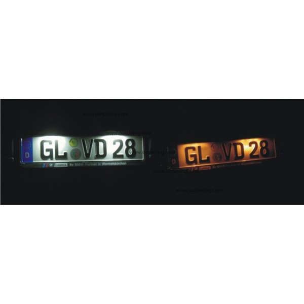 Eclairage Plaque Mercedes Benz W210 Eclairage Plaque Led W202 Plaque Led W202 Led Plaque