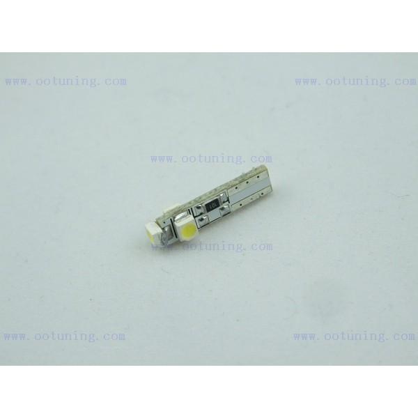 1 Ampoule Led T5 W1 2w 3smd Compteur Miroir De Courtoisie