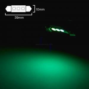 1 Ampoule LED 39MM C7W Vert