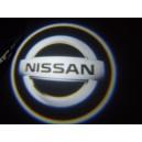 Led Laser Logo NISSAN Décorative de Portières