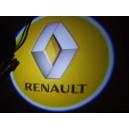 Led Laser Logo Renault  Décorative de Portières