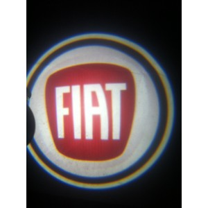 Led Laser Logo Fiat  Décorative de Portières