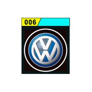 Led Laser Logo VW  Décorative de Portières