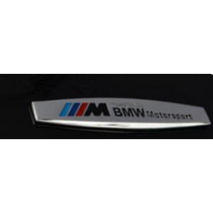 1 Sticker 3D en métal pour BMW adhésif autocollant