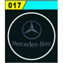 Led Laser Logo Mercedes Benz Décorative de Portières