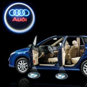Led Laser Logo Audi Décorative de Portières
