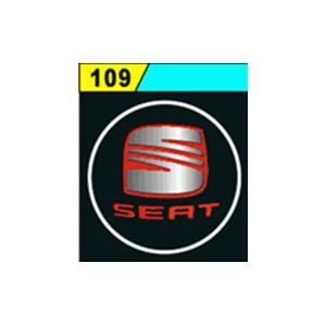Led Laser Logo SEAT Décorative de Portières