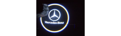 Led projecteur logo mercedes for Mercedes benz font download