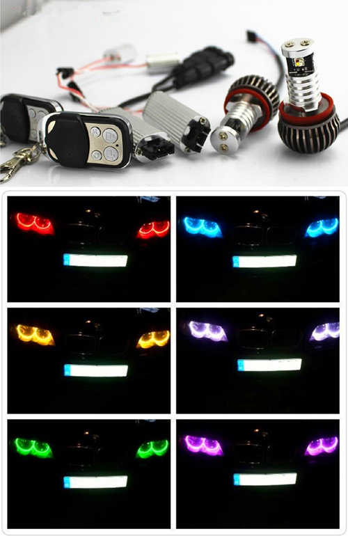 ANGEL EYES LED BMW H8 RGB