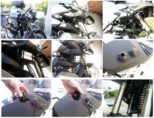 Installation De Kit Xenon Sur Bmw R 1200 Gs 2008 Www