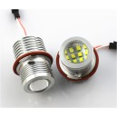 2 Ampoules LED 60W anneaux angel eyes pour BMW Série 1/5/7/X5