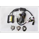 KIT XENON HID H6 Bi-Xenon / BA20D 6000K 35W + 2 veilleuses W5W à leds