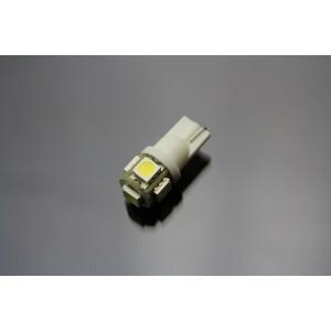 1 Ampoule LED T10 W5W 5 SMD Blanc Xénon