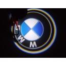 Led Laser Logo BMW Décorative de Portières