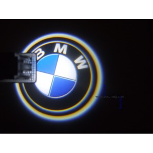 2 Modules d'éclairage à led projective logo BMW pour bas de porte