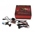 KIT XENON MOTO H7 55W + 2 Ampoules LED W5W