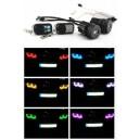 2 AMPOULES LED ANGEL EYES  MULTI COULEURS RGB POUR BMW E90 E91