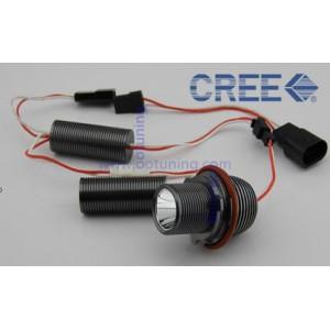 2 Ampoules LED CREE angel eyes 10W Pour BMW Série 1/5/7/X5