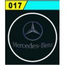 Led Laser Logo Mercedes Benz Décorative de Portières