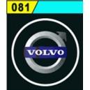 Led Laser Logo VOLVO Décorative de Portières